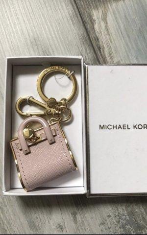 Michael Kors Key Chain light pink-gold-colored