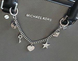 Michael Kors Taschenkette Silber Glitzer *Rarität*