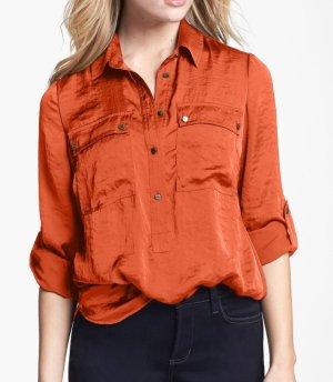 Michael Kors Top Bluse Safari Orange Spice