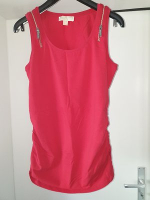 Michael Kors Cropped Top neon red