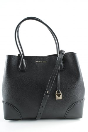 "Michael Kors Tote ""Annie LG Center Zip Tote Black"" black"