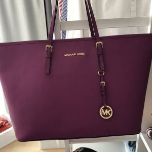 Michael Kors Tote violet-gold-colored