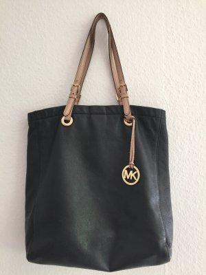 Michael Kors Shoulder Bag black-camel leather