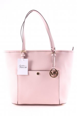 "Michael Kors Tote ""Jet Set Item Large Leather Tote Blossom"" hellrosa"