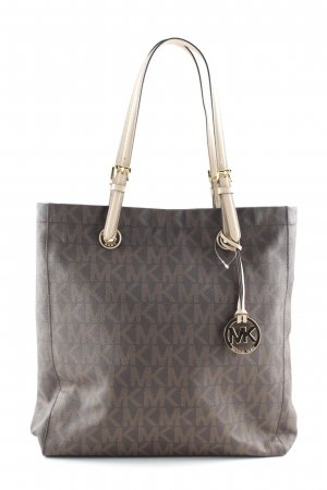 Michael Kors Tote monogram pattern casual look