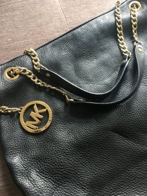 Michael Kors Carry Bag black-sand brown leather