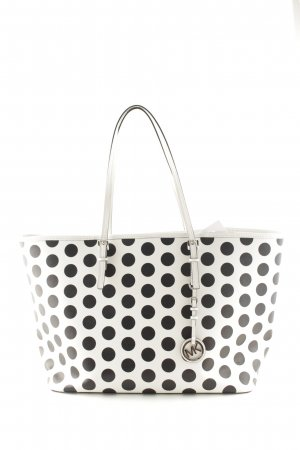 Michael Kors Tote white-black spot pattern casual look