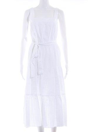 Michael Kors Trägerkleid weiß Romantik-Look