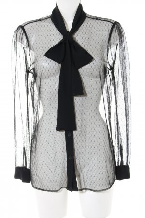 Michael Kors Transparenz-Bluse schwarz Elegant