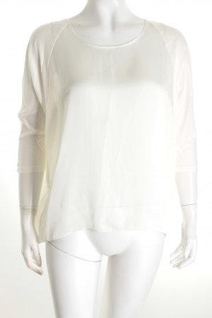 Michael Kors Transparenz-Bluse wollweiß Eleganz-Look