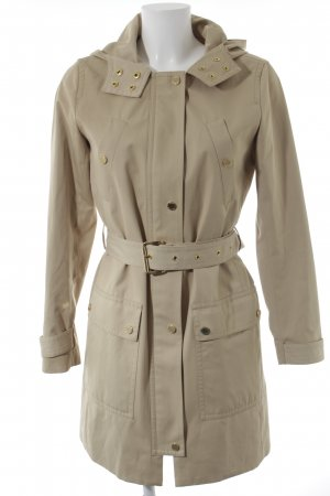 Michael Kors Trenchcoat beige-goldfarben Brit-Look