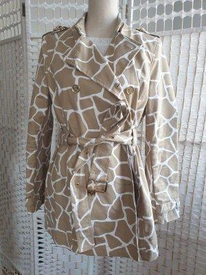 Michael Kors Trench Coat beige-white
