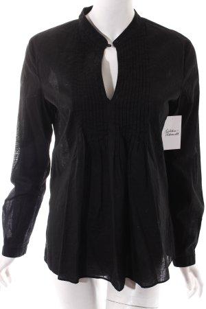 Michael Kors Tunikabluse schwarz klassischer Stil