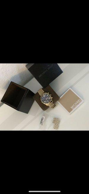 Michael Kors Analoog horloge goud-donkerblauw
