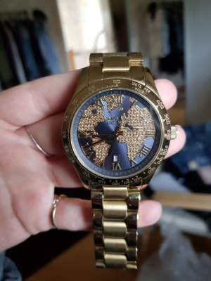 Michael Kors Digital Watch gold-colored-dark blue