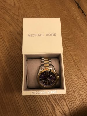 Michael Kors Watch With Metal Strap silver-colored-gold-colored