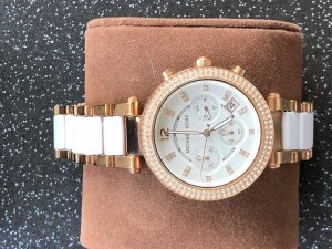 Michael Kors Watch With Metal Strap rose-gold-coloured-natural white