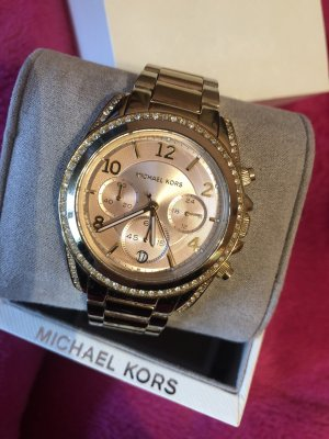 Michael Kors Analog Watch cream-gold-colored