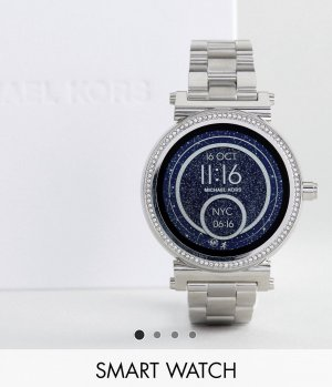 Michael Kors Digital Watch silver-colored