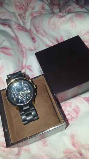Michael Kors Horloge zwart-goud