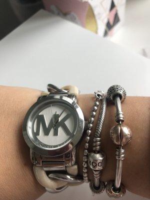 Michael Kors Montre avec bracelet métallique crème-beige