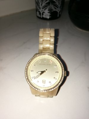 Michael Kors Uhr beige gold
