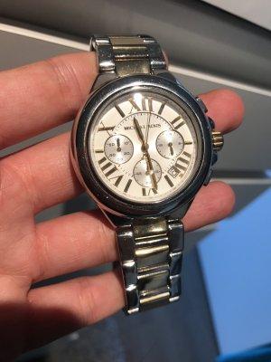 Michael Kors Uhr bicolor Gold Silber