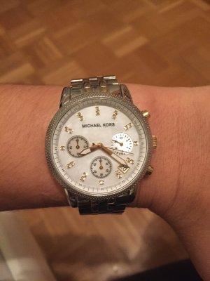 Michael Kors Uhr Bicolor Gold/Silber