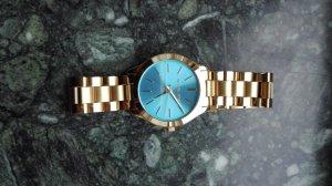 Michael Kors Uhr blaues Zifferblatt