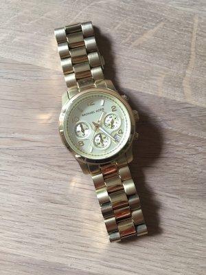 Michael Kors Uhr Chronograph Gold MK5055 – sehr guter Zustand – mit Box