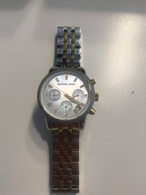Michael Kors Uhr Chronograph MK 5057 bicolor