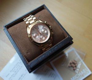 "Michael Kors Uhr Chronograph Modell ""Bradshaw"" Rosé Gold inkl. Box + Rechnung"