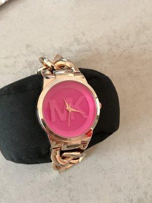 Michael Kors Uhr Damen mk Pink rosa Kettenarmband Ketten