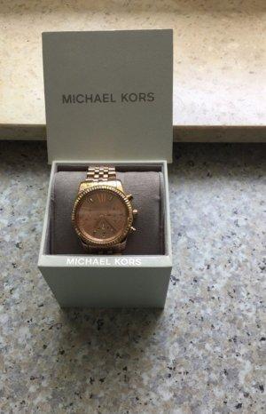 Michael Kors Orologio con cinturino di metallo beige
