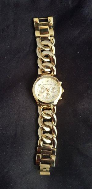 Michael Kors Montre avec bracelet métallique doré