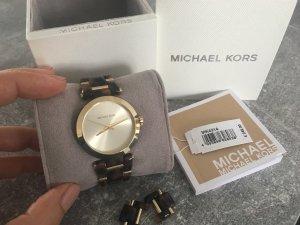 Michael Kors Uhr Gold, braun
