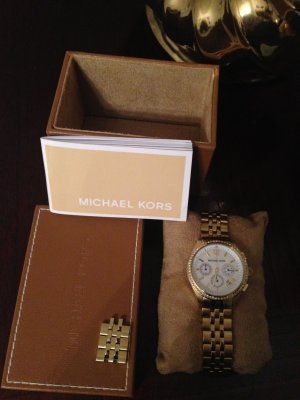 Michael Kors Uhr GOLD CHRONOGRAPH