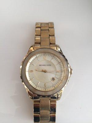 Michael Kors Uhr Gold/Elfenbein