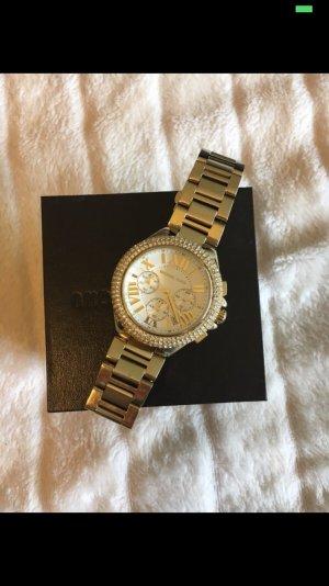 Michael Kors Uhr Gold mit Strass