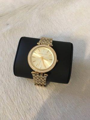 Michael kors Uhr Gold Silber Blogger Armband Armbanduhr Mode Accessoires