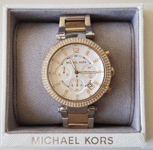 Michael Kors Uhr - Gold/Silber - wie neu!