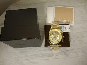 Michael Kors Uhr goldfarben NEU mit Etikett und Garantieschein