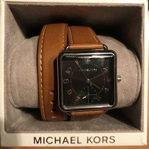 Michael Kors Uhr in braun wie neu