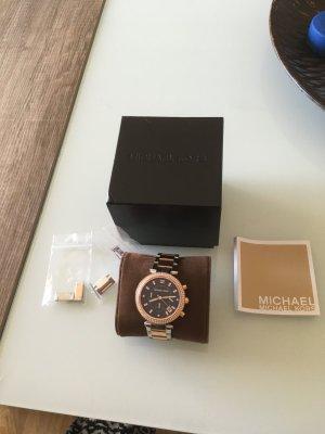Michael kors Uhr in Gold Silber abzugeben