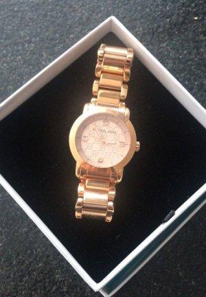 Michael Kors Horloge met metalen riempje zandig bruin