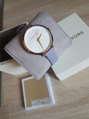 Michael Kors Watch With Leather Strap multicolored leather