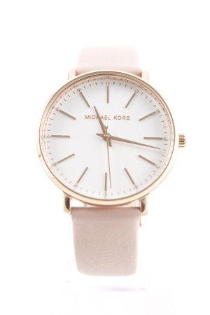 "Michael Kors Reloj con pulsera de cuero ""MK2741 Pyper Watch Rosegold"""