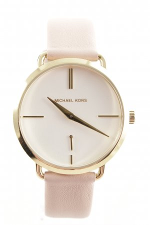 """Michael Kors Watch With Leather Strap """"Portia Watch Rose"""""""
