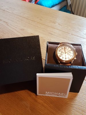 Michael Kors Uhr mit Lederband
