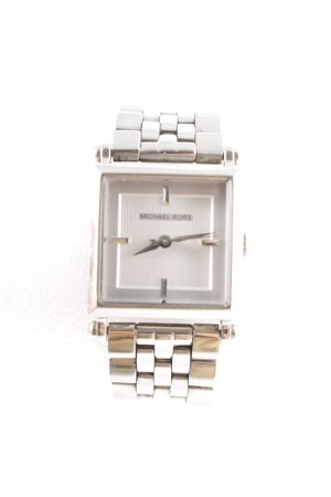 Michael Kors Watch With Metal Strap silver-colored business style